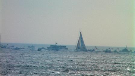 Arrivée du Vendée Globe 2009